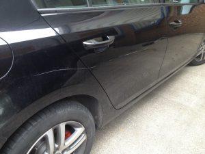 Car keying repair costs
