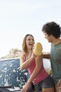 washing your car