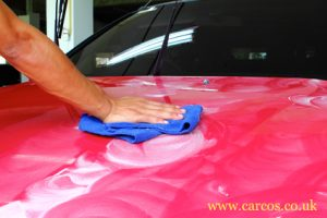 car paintwork polishing