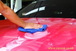 car paintwork polishing