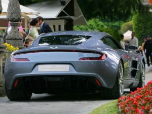 Aston Martin One-77 rear view