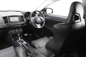 Mitsubishi Evo X Interior