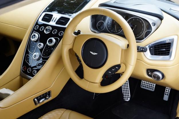 Aston Martin One Interior