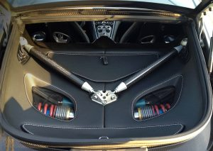 Aston Martin One-77 boot space
