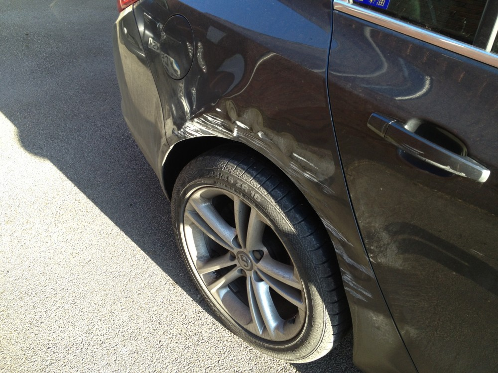 an advice on repairing a dented vehicle Prices to repair hail dents vary by auto body shop and the location of the  tags:  auto repair, car care tips, hail damage repair, honda service.