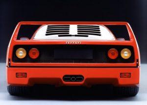 Ferrari F40 rear