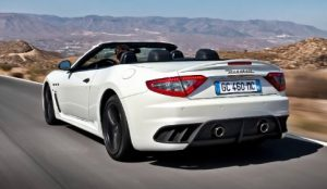 Maserati Grancabrio Rear View