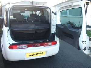 Nissan Cube Boot