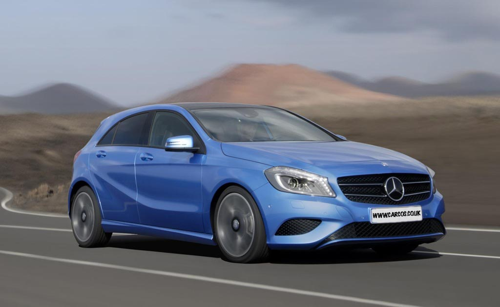 mercedes a class uk car review. Black Bedroom Furniture Sets. Home Design Ideas