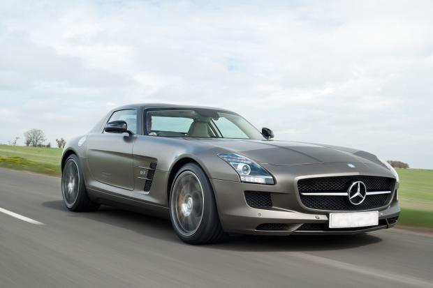 Mercedes sls amg uk car review - Mercedes sls amg gt coupe ...