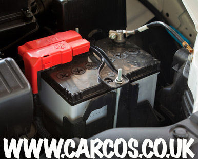 Change car battery red black first time