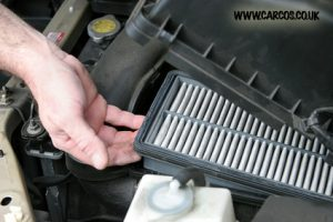 How to change an air filter