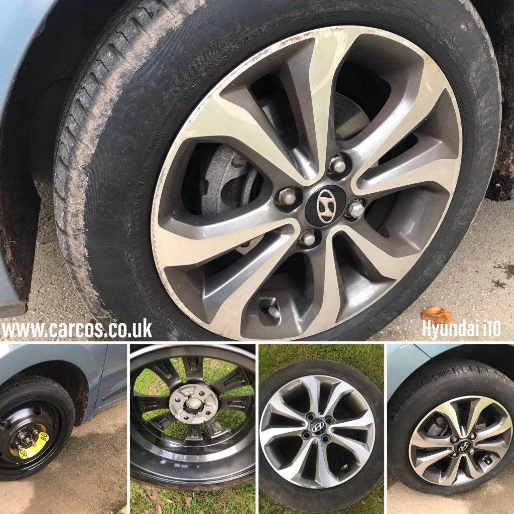 diamond cut alloy wheel repair